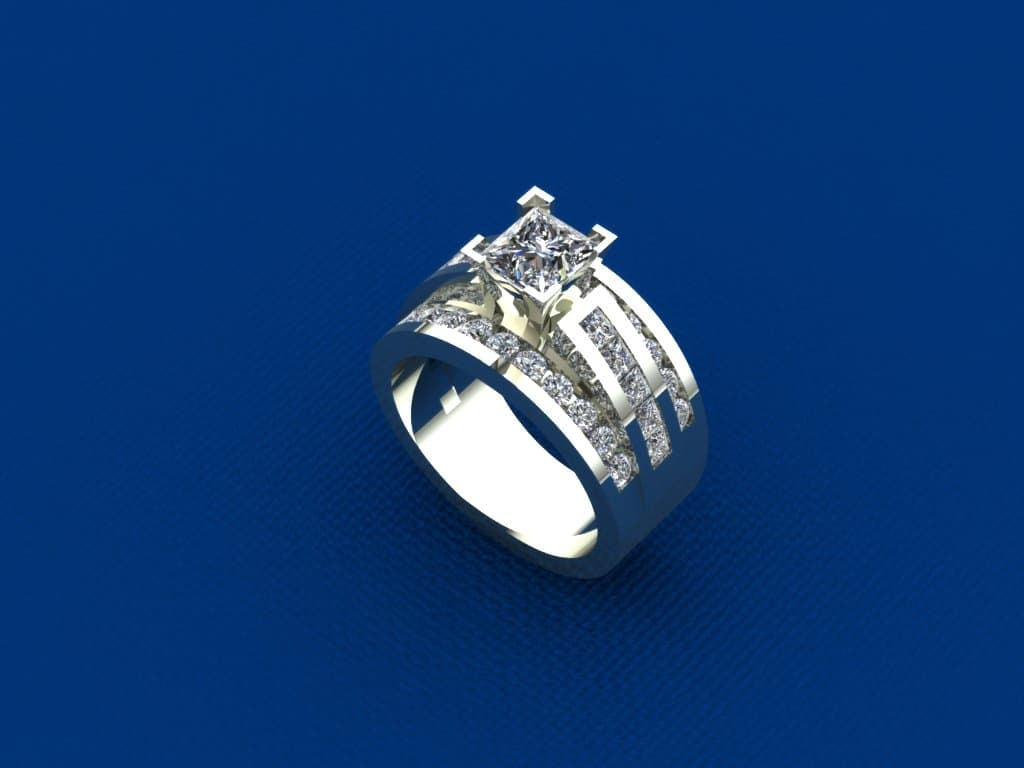 Custom Jewelry CAD 3