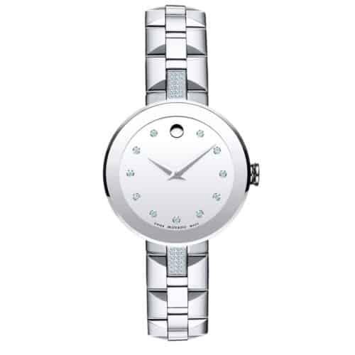 Movado Women's Sapphire Stainless Steel Watch