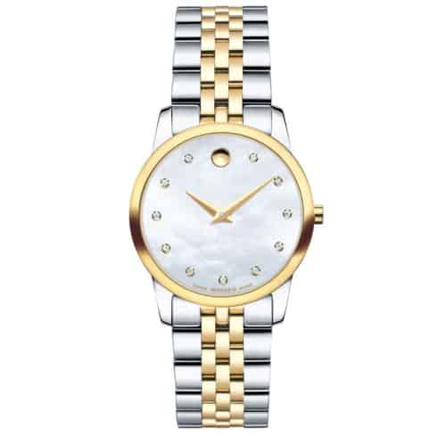Women's Museum Classic watch two-tone