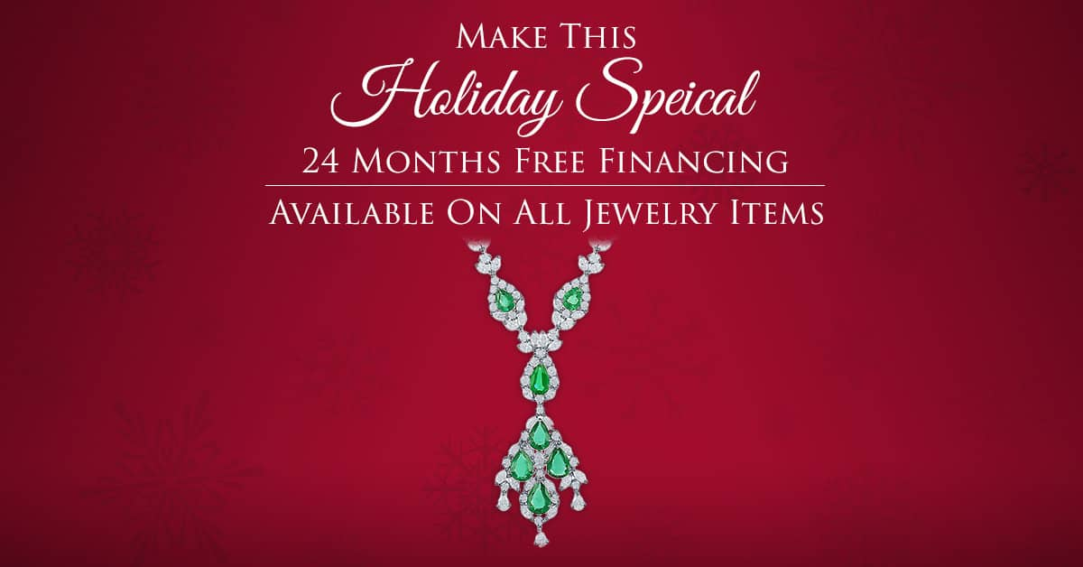 2015 Holiday Jewelry Financing Special Offer