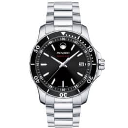 Men's Series 800 watch, Performance Steel case, black bezel & dial