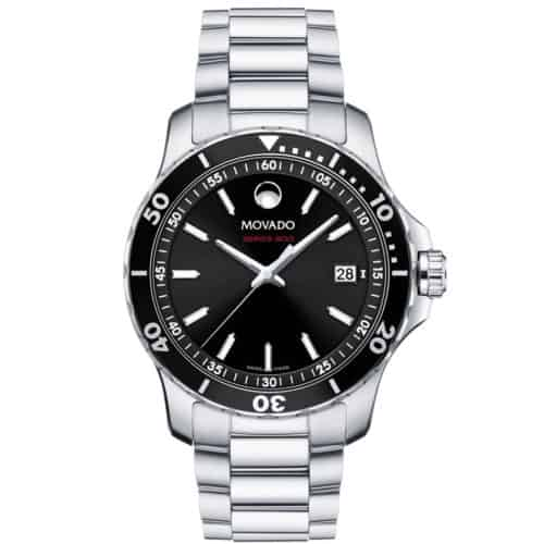 Men's Series 800 watch, Performance Steel case, black bezel & dial