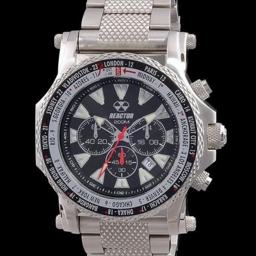 Reactor Watch, Proton World Time, Black Dial
