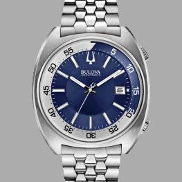 Bulova Accutron II, Snorkel, Blue Dial
