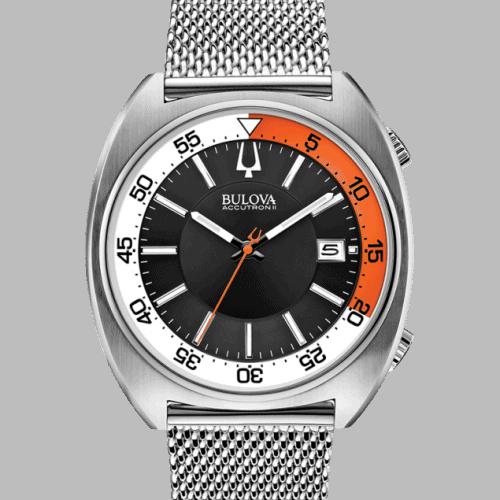 Bulova Accutron II, Snorkel, Mesh Bracelet