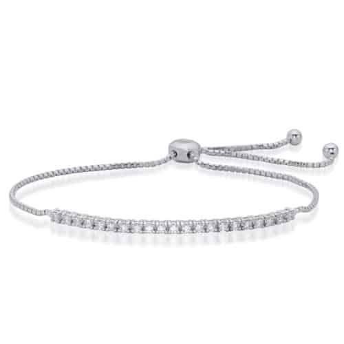 S. Kashi White Gold Bolo Diamond Bracelet (B4440-1.5MWG)