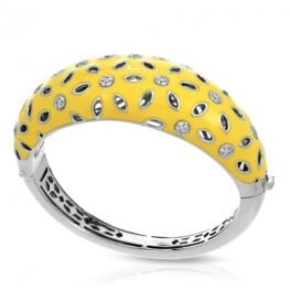 Belle etoile Charlotte Yellow Bangle