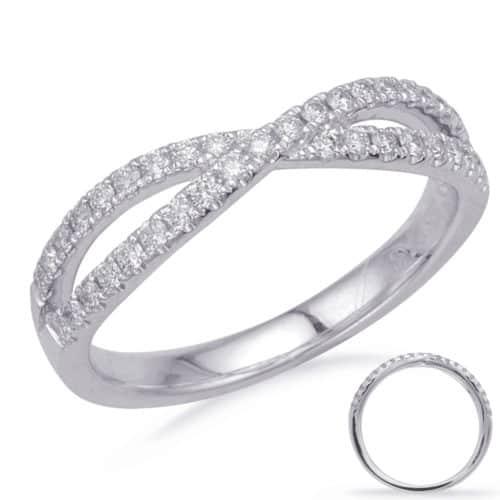 S. Kashi White Gold Diamond Fashion Ring (D4681WG)