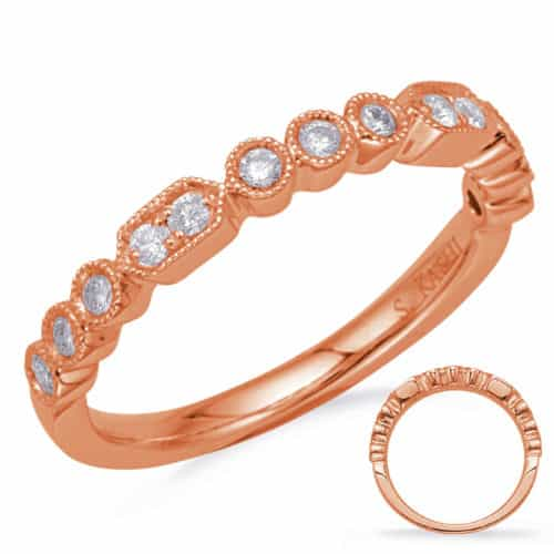 S. Kashi Rose Gold Diamond Fashion Ring (D4723RG)