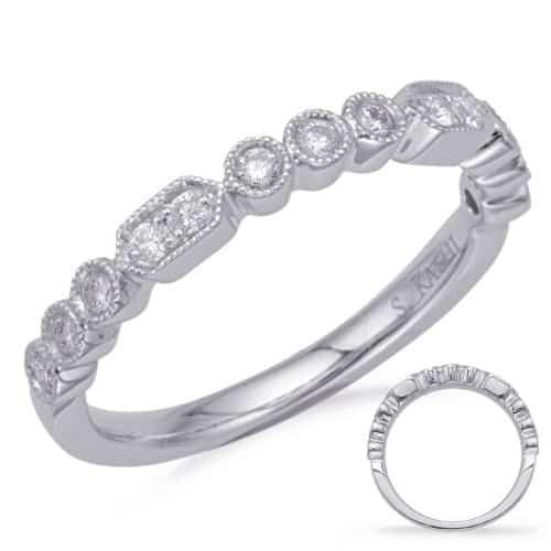 S. Kashi White Gold Diamond Fashion Ring (D4723WG)