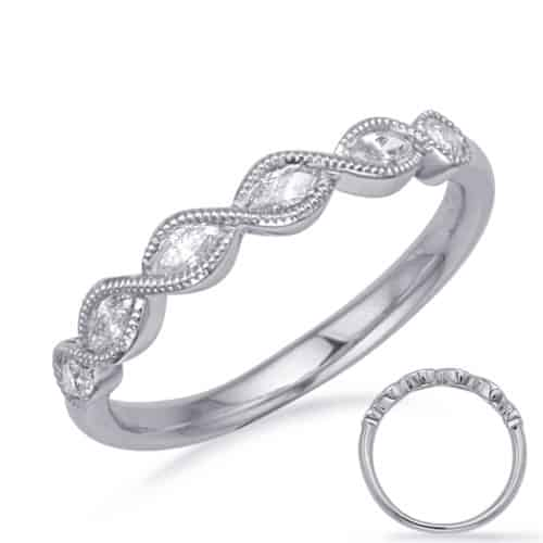 S. Kashi White Gold Diamond Fashion Ring (D4733WG)