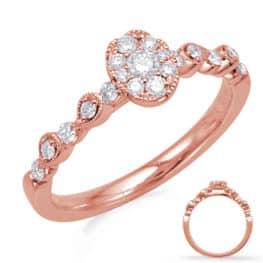 S. Kashi Rose Gold Diamond Fashion Ring (D4738RG)