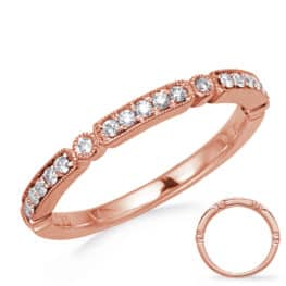 S. Kashi Rose Gold Stackable Band (D4742RG)