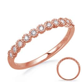S. Kashi Rose Gold Stackable Band (D4743RG)
