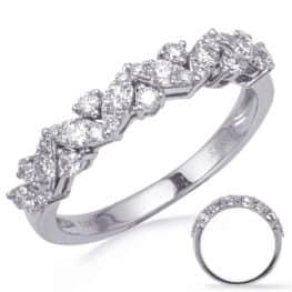 S. Kashi White Gold Diamond Fashion Ring (D4747WG)