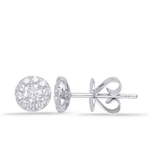 S. Kashi White Gold Diamond Earring (E7938-6.0MWG)