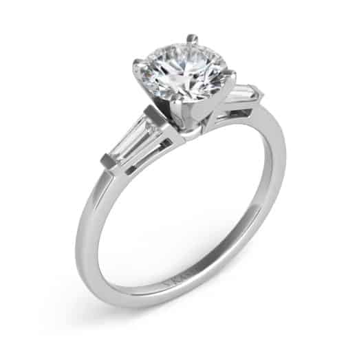S. Kashi White Gold Engagement Ring (EN1509-4.0MWG)