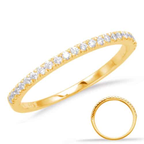 S. Kashi Yellow Gold Matching Band (EN1705-BYG)