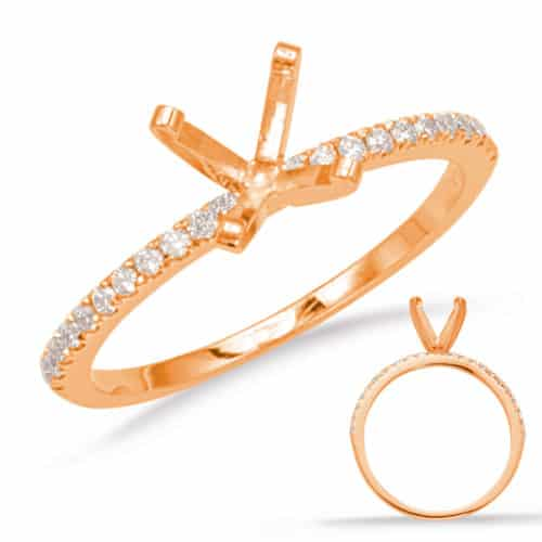 S. Kashi Rose Gold Engagement Ring (EN1705RG)