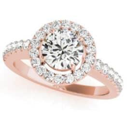 S. Kashi Rose Gold Engagement Ring (EN7281-15RG)