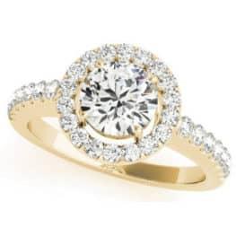 S. Kashi Yellow Gold Engagement Ring (EN7281-50YG)
