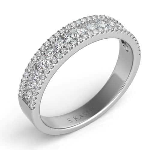 S. Kashi Matching Diamond Band For EN7326 (EN7326-BWG)