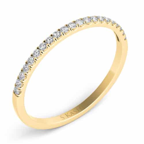 S. Kashi Yellow Gold Matching Band (EN7370-BYG)