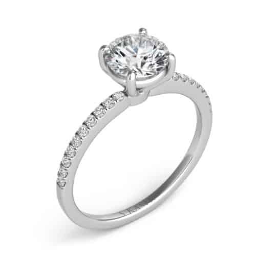 S. Kashi White Gold Engagement Ring (EN7470-1WG)