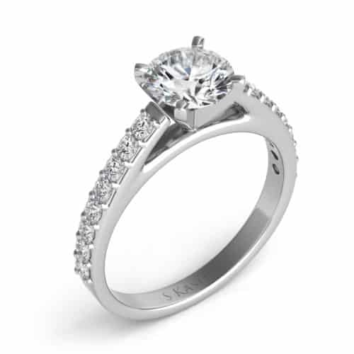 S. Kashi White Gold Engagement Ring (EN7476WG)