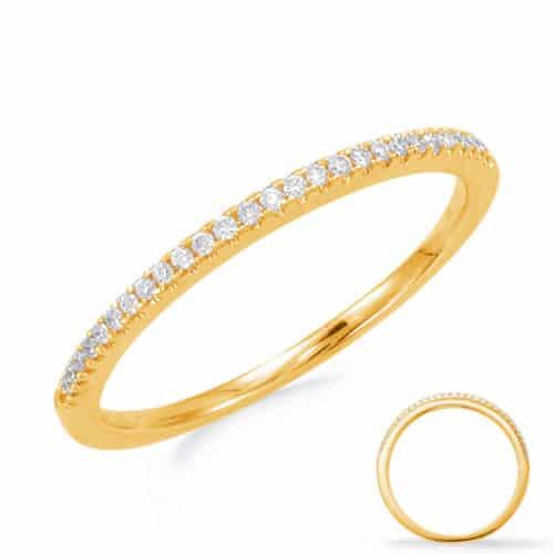 S. Kashi Yellow Gold Wedding Band (EN7551-BYG)