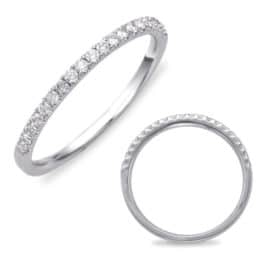 S. Kashi White Gold Matching Band (EN7569-BWG)