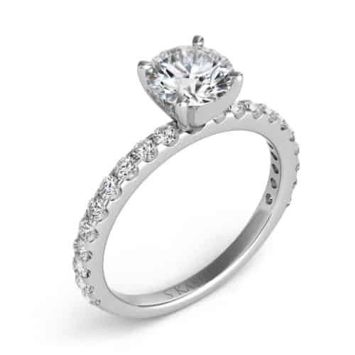 S. Kashi White Gold Engagement Ring (EN7581WG)