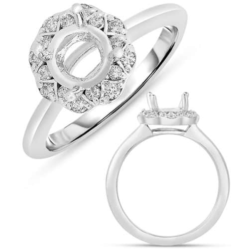 S. Kashi White Gold Engagement Ring (EN7589-33WG)
