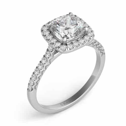S. Kashi White Gold Engagement Ring (EN7593-5.5MWG)