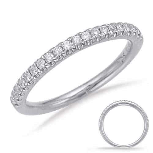S. Kashi White Gold Matching Band (EN7743-BWG)