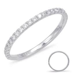 S. Kashi White Gold Matching Band (EN7785-BWG)