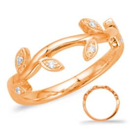S. Kashi Rose Gold Matching Band (EN7818-B50RG)