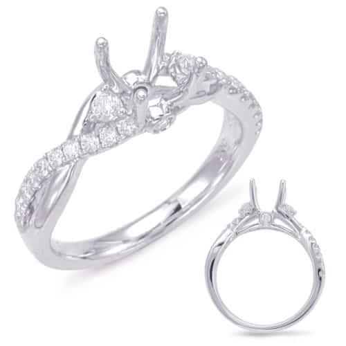 S. Kashi White Gold Engagement Ring (EN7831-125WG)