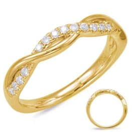 S. Kashi Yellow Gold Matching Band (EN7831-B10YG)