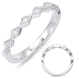 S. Kashi White Gold Matching Band (EN7835-BWG)
