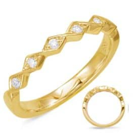 S. Kashi Yellow Gold Matching Band (EN7835-BYG)
