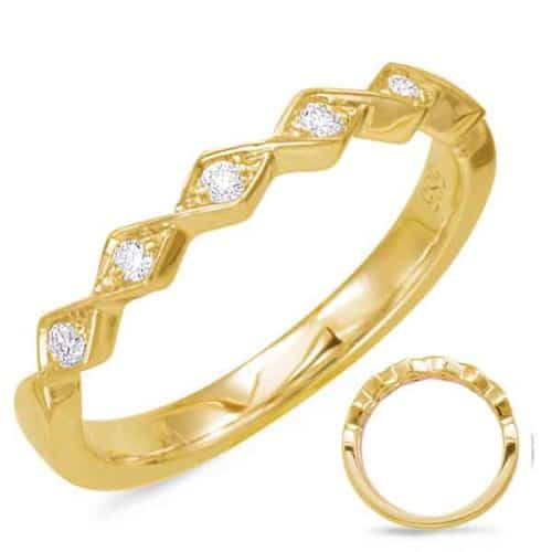 S. Kashi Yellow Gold Matching Band (EN7835-BYG)