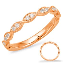 S. Kashi Rose Gold Matching Band (EN7897-BRG)
