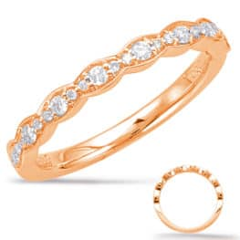 S. Kashi Rose Gold Matching Band (EN7948-BRG)