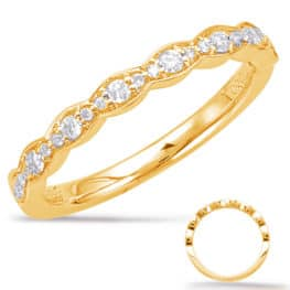 S. Kashi Yellow Gold Matching Band (EN7948-BYG)