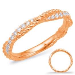 S. Kashi Rose Gold Matching Band (EN7969-B10RG)