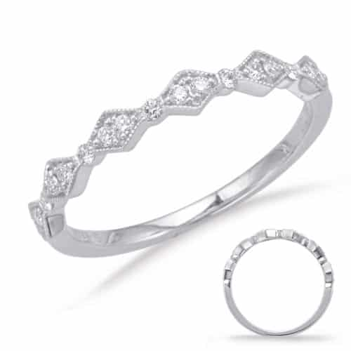 S. Kashi White Gold Matching Band (EN8031-BWG)