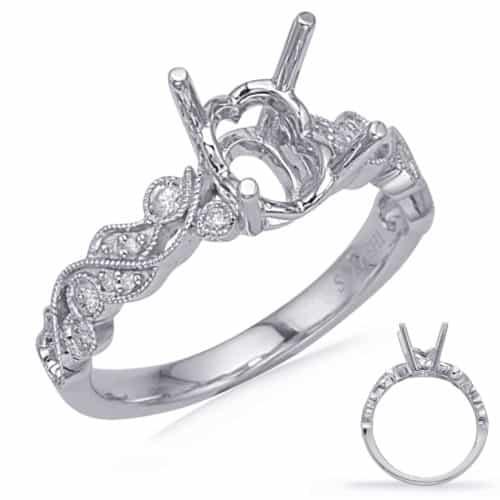 S. Kashi White Gold Engagement Ring (EN8036-7X5MWG)