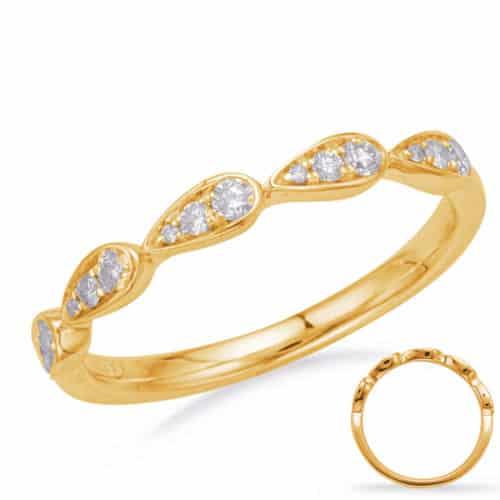 S. Kashi Yellow Gold Matching Band (EN8156-BYG)
