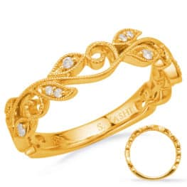 S. Kashi Yellow Gold Matching Band (EN8171-BYG)